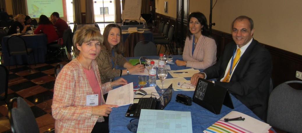 Proyecto Grundtvig. Seminario de contacto en Sevilla, 2012