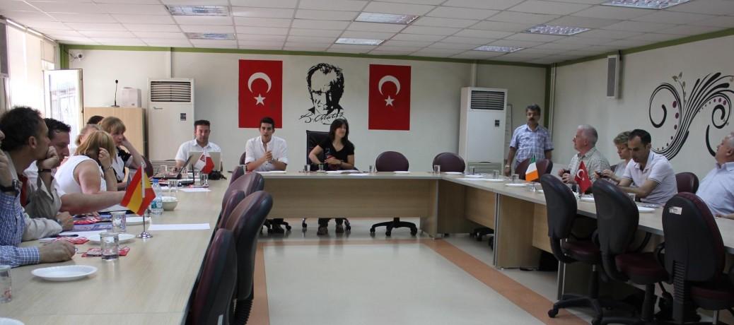 Tercera Reunión Internacional del Proyecto, Turquía